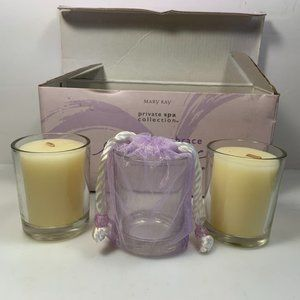 Mary Kay Embrace Candle Set Private Spa Collection